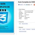 Ebook gratis: Guía Completa de CSS3