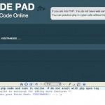 Probar tu código PHP online con PHP Code Pad