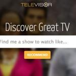 Televisor: Buscador de series similares a las que te gustan