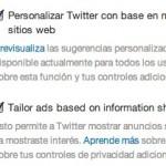 Cómo evitar que Twitter rastree tu navegación para mostrarte publicidad