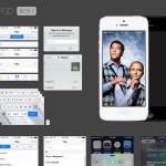 PSD gratuito con todos los elementos gráficos de iOS7