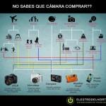 Diagrama de flujo para decidir qué cámara comprar