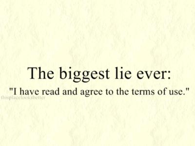 La mentira más grande en Internet [Humor]