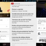 YouTube para Android recibe una actualización