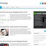 Iconic One, un tema limpio, liviano y responsive para WordPress