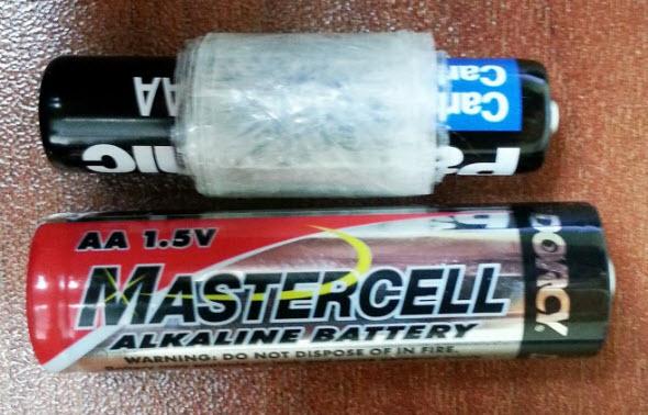 convertir bateria aaa en aa
