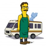Los personajes de Breaking Bad simpsonizados