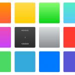 Conoce los colores utilizados en iOS 7