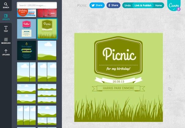 Canva herramienta para dise ar folletos tarjetas for Disenar habitacion online gratis