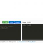 Tutorial interactivo gratuito para aprender PHP