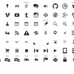 Genericons: Colección de iconos en alta resolución
