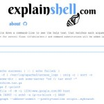 ExplainShell: Un sitio que te explica claramente todos los comandos de Linux