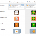 Crea favicons seguros para iOS, Android y Windows 8