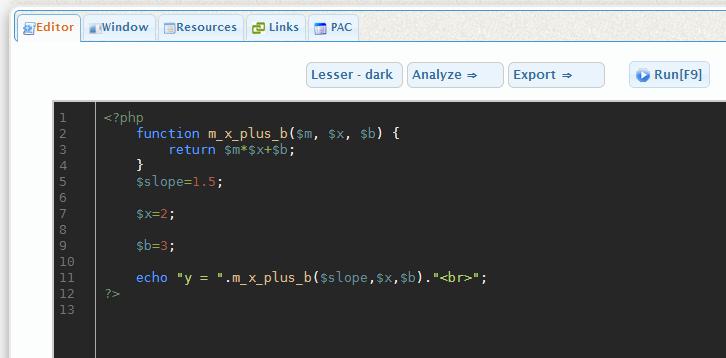 PHPFiddle: El mejor editor de PHP en línea