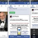 Facebook recibe una nueva actualización en Android