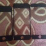 Aparece una fotografía con la pantalla del iPhone 6