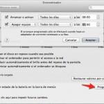 Cómo programar el encendido y apagado de una Mac sin programas adicionales