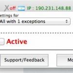 AnonymoX, para cambiar de IP y navegar anonimamente con un click [Firefox]