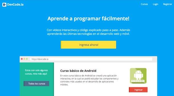 Nuevo sitio con cursos para aprender a programar fácilmente