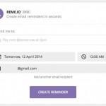 REME.IO: Servicio de recordatorios vía mail muy fácil de usar