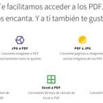 Smallpdf, una suite online para trabajar con documentos PDF