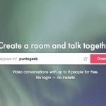 Appear.in: Salas de videoconferencia gratis de hasta 8 personas