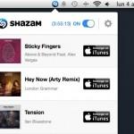 Shazam para Mac, identifica todas las caciones que estén sonando a tu alrededor