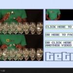 La canción de Tetris tocada con copas de vino y cucharas