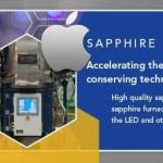 Apple llega a un acuerdo de producción de zafiro