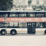 Autobuses y taxis portugueses son también routers de wi-fi